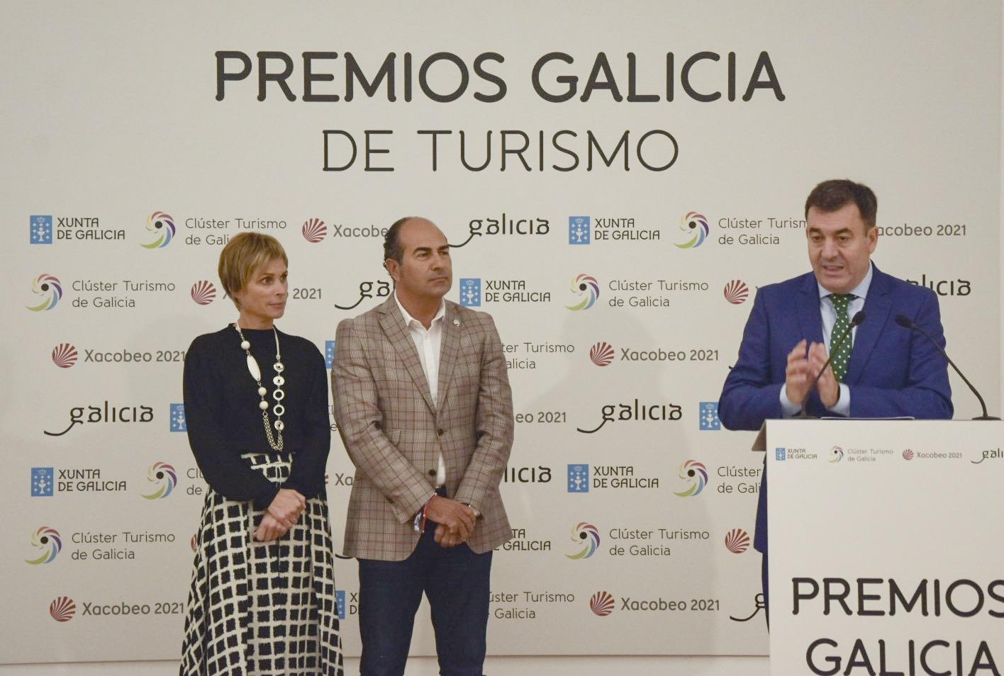 A INDUSTRIA TURÍSTICA E A XUNTA COLABORAN PARA CREAR OS PREMIOS GALICIA DE TURISMO