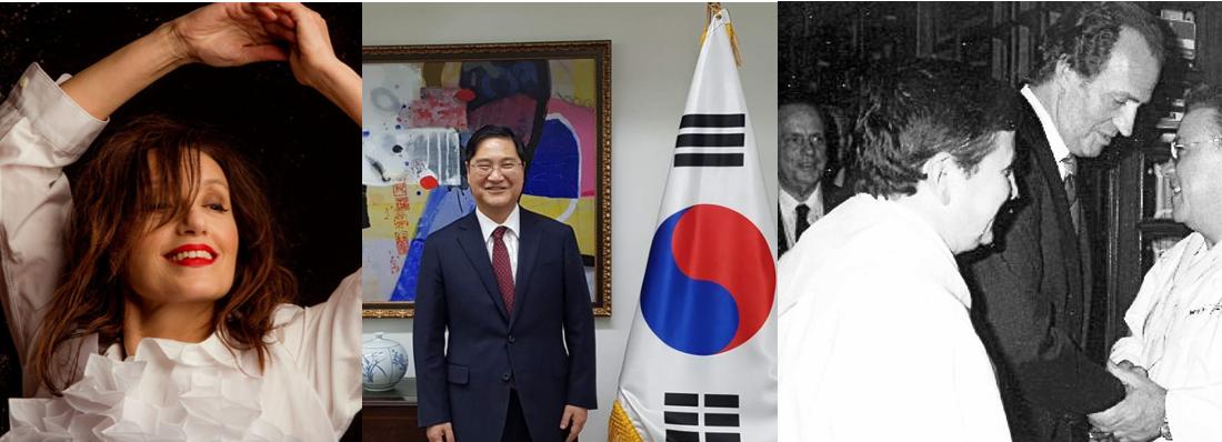Luz Casal, o embaixador da República de Corea en España e os irmáns Vilas, honoríficos dos Premios Galicia de Turismo 2019